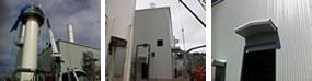 FMC Hydrogen Reformer Building - Ferro Building Systems LTD