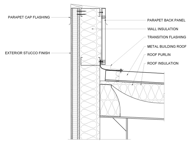 Parapet Detail - Ferro Building Systems LTD