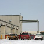 Modern Metal Garage - Ferro Building Systems LTD