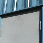 Metal Siding Door - Ferro Building Systems