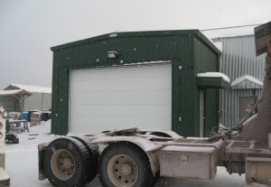 Cameco Oil Storage Building - Ferro Building System