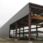 Alberta Custom Pipe Expansion Building - Ferro Building System