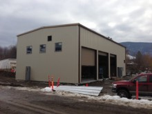 Coldstream Maintenance Facility - Ferro Building System