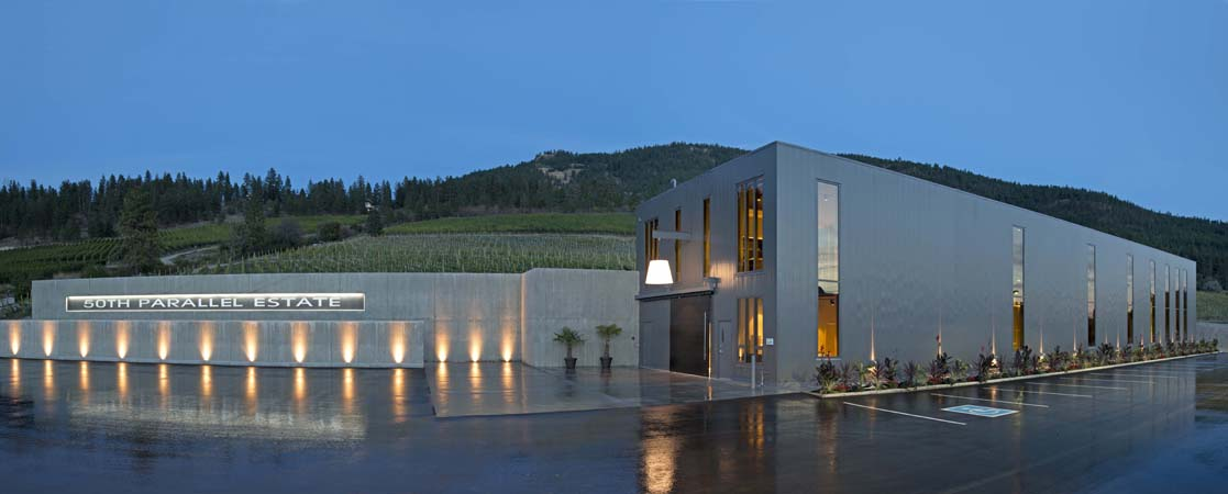 50th Parallel Estate building