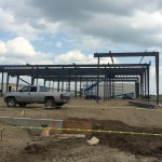 Pre-fabricated steel building construction