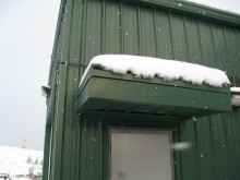 Metal building standing up to winder conditions