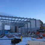 Putting up a pre-engineered steel building