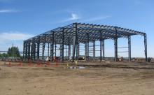 Framework of metal building