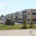 Pre-engineered metal building storefronts