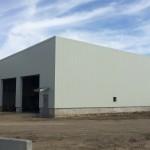 Pre-engineered metal warehouse
